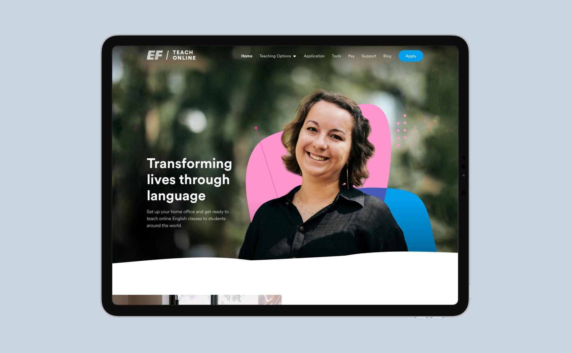 EF Teach Online